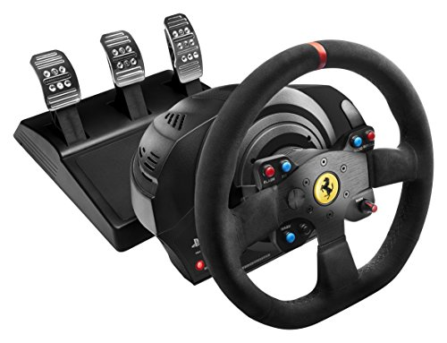 Thrustmaster VG T300 Ferrari Alcantara Edition Racing Wheel for PS4, PS3 and PC (Thrustmaster Wheel compare prices)