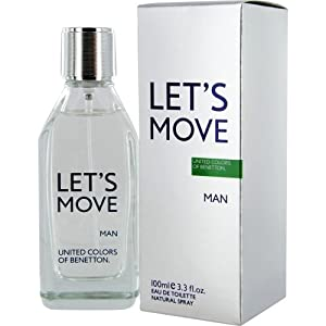 BENETTON LET'S MOVE by Benetton for MEN EDT SPRAY 3.4 OZ