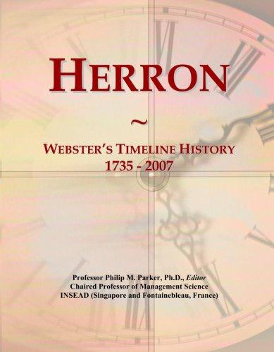 herron-websters-timeline-history-1735-2007