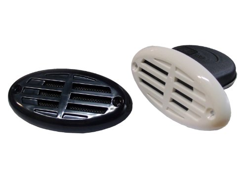 Marine Electric Drop In Hidden Horn W/Two Grills For Boats . 12V . Five Oceans