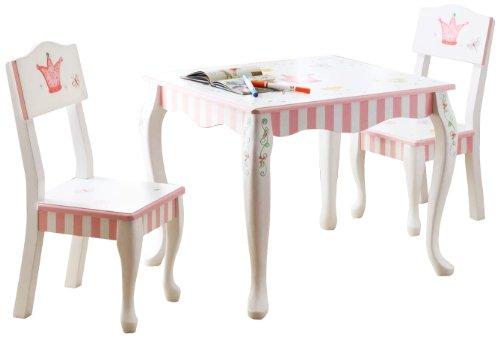 Teamson Kids Girls Table And Chairs Set Princess Frog Room