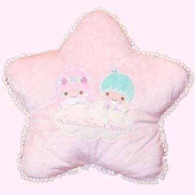 クッション 星 ピンク リトルツインスターズ (キキ&ララ) [おもちゃ&ホビー]