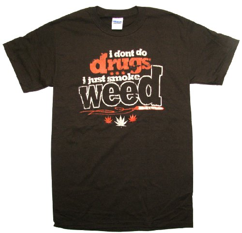 Marijuana T-shirt I Don't Do Drugs Just Smoke Weed-xxl