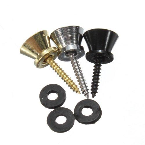 Guitar Strap Button Screw Lock For Electric Acoustic Guitar Bass Parts-Random Color front-464472