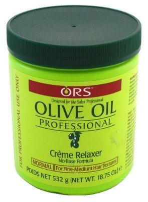 Organic Root Salon Olive Oil Professional Creme Relaxer