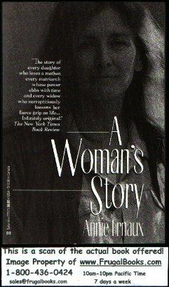A Woman's Story, Annie Ernaux