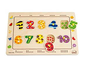 Hape - Numbers Matching Puzzle