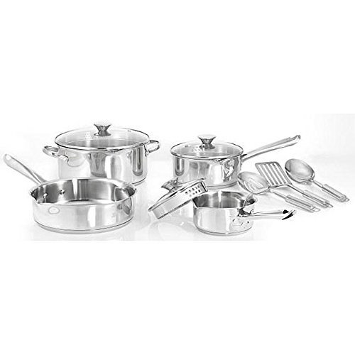 WearEver A834SA65 Stainless Steel 10-piece Cookware Set (Wearever Stainless Cookware Set compare prices)