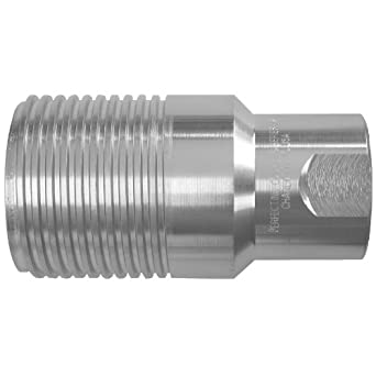 "Dixon WS Series Steel High Pressure Hydraulic Fitting, Plug, 3/4"" Size"
