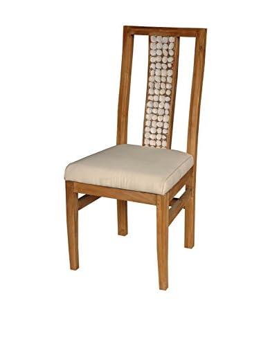 Jeffan New Hampton Ovita Side Chair, White