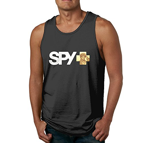 Hilal Trum Spy Men's Vintage Top Tank XL Black