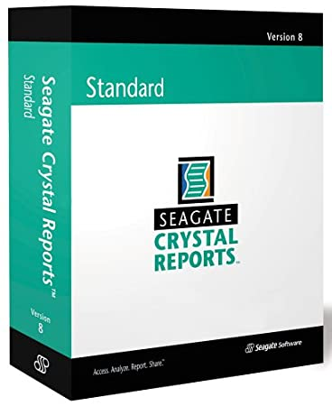 Crystal Reports 8 Standard (CD-ROM)