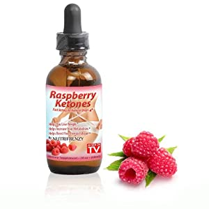 Raspberry Ketones Liquid Drops 100 Pure All Natural Ingredients Fast Absorbing Weight Loss Faster Than Capsules 60 Day Supply from Nutrifrenzy