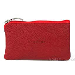 ANELLO - Zippered Italian Leather Key Case (Red)
