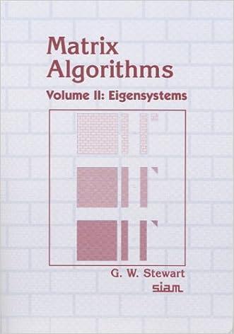 Matrix Algorithms, Volume II: Eigensystems