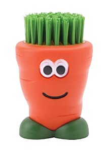 Joie Veggie Dude Brush, Red/ Black