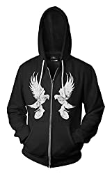 Hollywood Undead Mirror Dove Hoodie from Araca