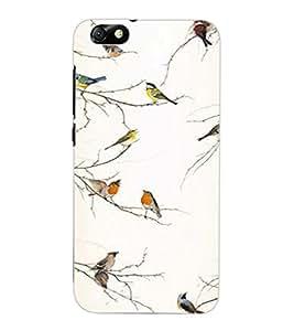 ColourCraft Birds Design Back Case Cover for HUAWEI HONOR 4X