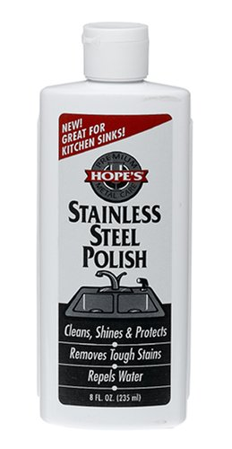 The Hope Company 8SS12 8 Oz Stainless Steel Polish