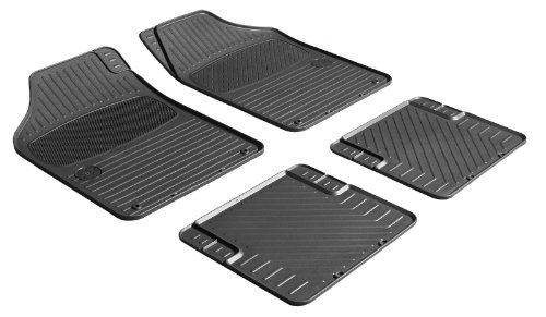 Zpv 901562 Chevy Floor Mat 4 Pc Set Black Trim To Fits