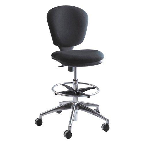 Safco Safco Metro Drafting Chair, Black, Metal/Plastic