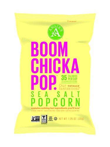 Angie's Boomchickapop Sea Salt Popcorn, 1.25 Ounce (Pack of 12) (Angies Popcorn Seasalt compare prices)