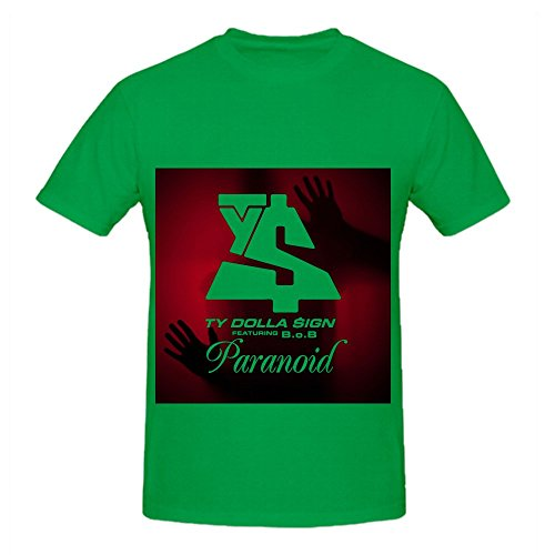 Ty Dolla $ign Paranoid (feat. B.o Men Crew Neck Cotton T ...