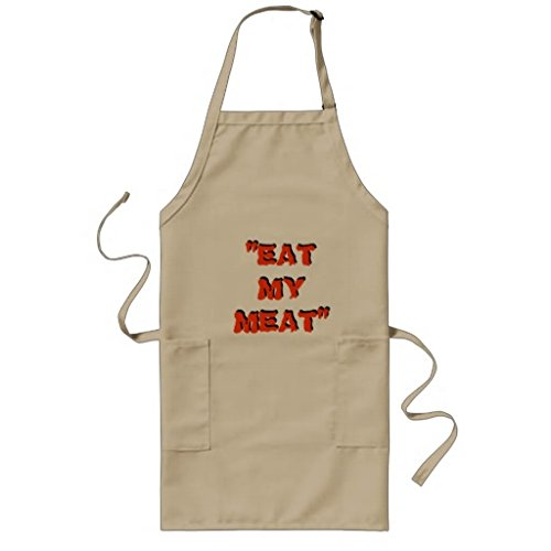 Sunningq Eat My Meat Apron Only 1995