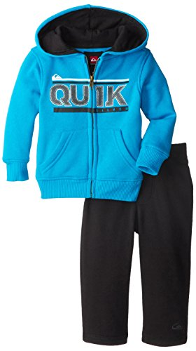 Quiksilver Baby-Boys Infant Blue Hoody With Pull On Pants, Blue, 18 Months front-203461
