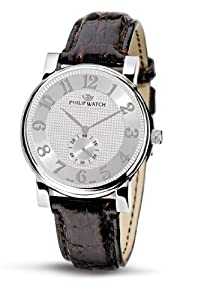 Philip Men's Wales Analogue Watch R8251193015 with Quartz Movement, Silver Dial and Stainless Steel Case