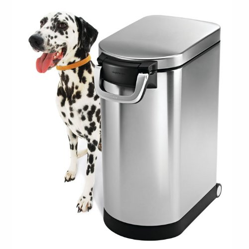 Metal Dog Food Storage Containers