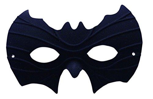 [Black Bat Half Eye Mask Batman Batwoman Super Hero Halloween Costume Accessory] (Best Womens Comic Con Costumes)