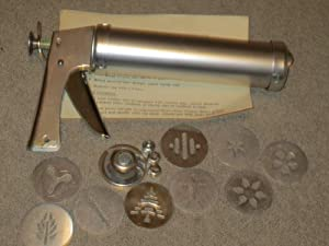 Amazon.com: Wear-Ever Cookie Gun with Thickness Control -- Complete