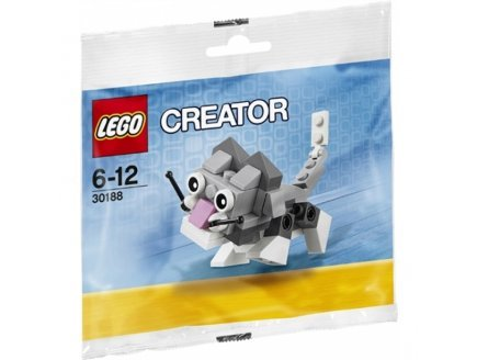 LEGO Creator: Cute Kitten Set 30188 (Bagged) - 1
