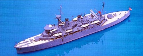 Skywave 1/700 IJN Submarine Tender Chogei Model Kit