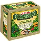 Jobe's 1260 Organic Tree Fertilizer Food Spikes, 10-Pack