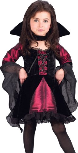 Sweetie Vampiress Toddler Medium Large Costume