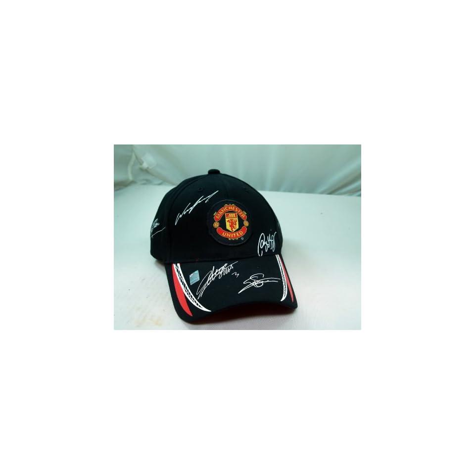 FC MANCHESTER UNITED OFFICIAL TEAM LOGO CAP / HAT   MU011