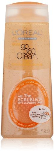 L'Oreal Paris Go 360 Clean Deep Exfoliating Scrub, 6.0 Fluid Ounce front-464088