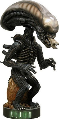 Aliens NECA Extreme Head Knockers Alien (Damaged Package, Mint Contents!) by Unknown (Alien Head Knocker compare prices)