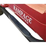 Rampage R8628 Body Side Guards With Step BLACK Powder Coat For 2007-10 Jeep Wrangler JK 4 Door