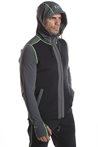 Mens- Kutting Weight (cutting weight) neoprene weight loss hoodie (XL)