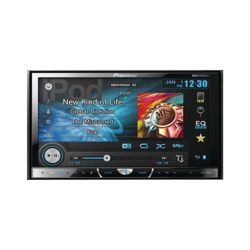 Pioneer Avh-X4600Bt 7 Double-Din Dvd Receiver With Bluetooth(R) Appradio(R) & Mixtrax(Tm)