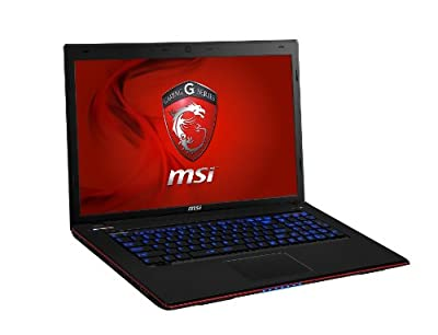 "MSI GE70 2PE-010US Apache, 17.3"" Full HD Notebook (Core i7-4700HQ, DDR III 8GB+4GB, nVidia Geforce GTX860M, 1TB (SATA) 7200rpm, Windows 8.1)"
