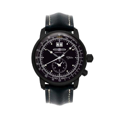 Zeppelin Watches Men's Quartz Watch 7638-2 7638-2 with Leather Strap