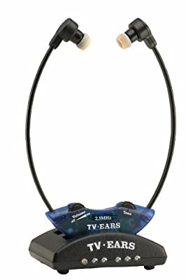 TV Ears 10321 2.3 System Wireless Headset System (Blue) (Discontinued by Manufacturer)