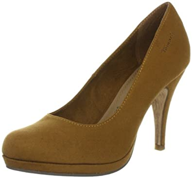 Tamaris 1-1-22497-29, Damen Klassische Pumps, Gelb (DK.CURRY SUEDE 634), EU 39