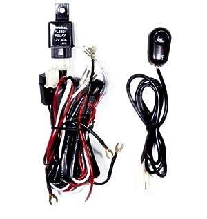 barra de luz led mictuning 30 amp con cables y botón de encendido barra de luz led mictuning 30 amp con cables y botón de encendido y apagado