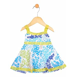 cotton lace dress, 2-3 y