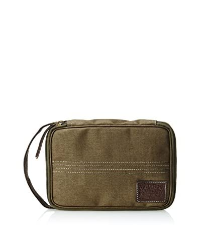 Timberland Men's Canvas Flat Pack Travel Kit, Green